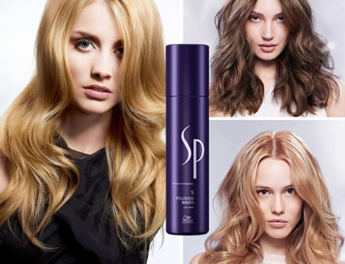 Volumen-Styling mit Wella SP Polished Waves